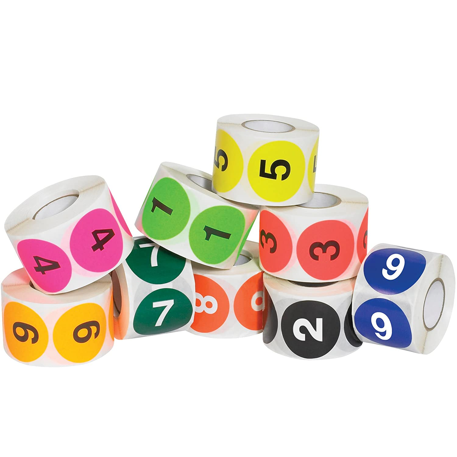Numbers (1-10) Labels/Stickers, 2