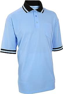 Adams USA Smitty Major League Style Short Sleeve Umpire Shirt - Sized for Chest Protector