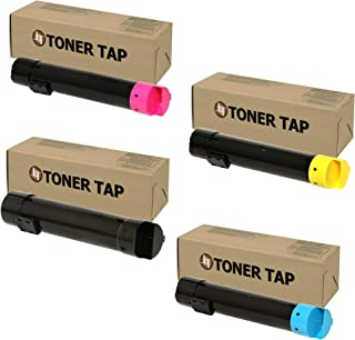 Toner Tap High Yield Compatible Toner for Dell 5130 5130CDN Value Pack (Bk/C/M/Y) Cartridge Set