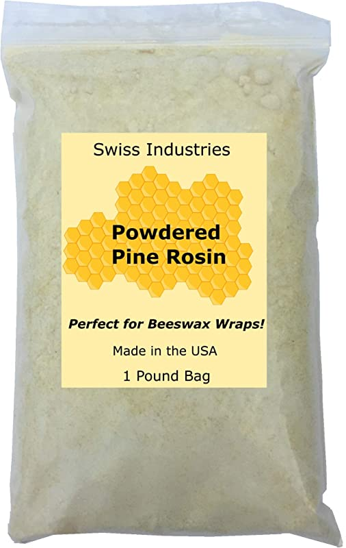 Powdered Pine Rosin For Making Beeswax Wraps Or Grip For Baseball Bull Riding Dance Pointe Shoes Dancers Hands Or Feet Powder Gum Resin Food Grade 1lbs Bag