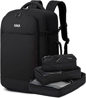 KAKA Travel Backpack for Men Women,40L Carry On Flight Approved Weekender Bag
