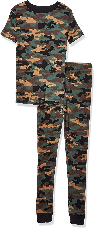 Planet Sleep Boys 2 Piece Cotton Snug Fit Pajama Set-Kids Sleepwear