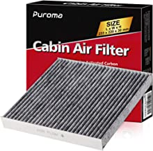 Puroma 1 Pack Cabin Air Filter with Activated Carbon, Replacement for CP134, CF10134, Honda & Acura, Civic, CR-V, Odyssey, CSX, ILX, MDX, RDX, AT134