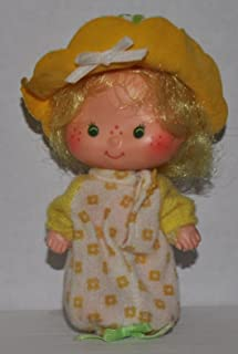 Vintage Butter Cookie (1979) (Doll, Hat, Shirt) - Strawberry Shortcake (Retired) Doll - Collectible Replacement Toy - Loose (OOP Out of Package & Print)