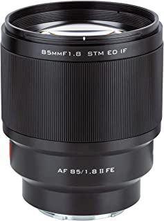 VILTROX 85mm F1.8 Mark II STM Full-Frame 85mm f1.8 ii for Sony E-Mount Camera Lens Support AF Auto Focus for Sony A7III A7...