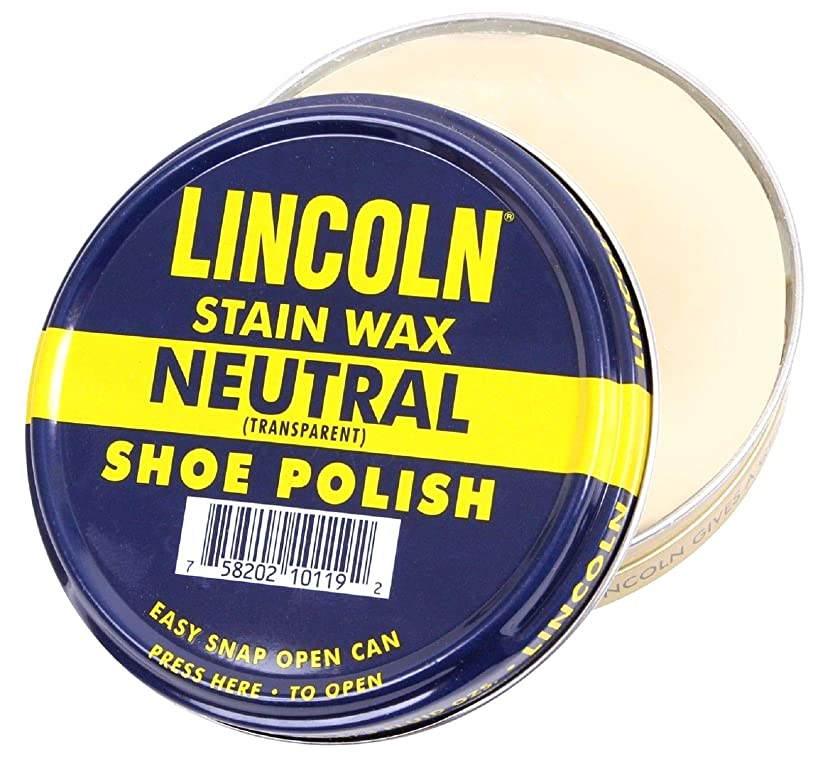 奇跡蜜相談[POLARIS] LINCOLN シューポリッシュ 【新色入荷! 全13色】 天然カルナバワックス使用 靴 ワックス アメリカ製 石油由来成分不使用