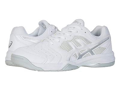 ASICS GEL-Dedicate(r) 6 (White/Silver) Men