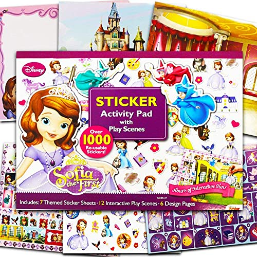 Artistic Studios Disney Sofia The First Ultimate Sticker Activity Pad by Artistic Studios Ltd. TOY (English Manual)