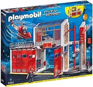 PLAYMOBIL Fire Station Multi, 58.5 x 50.01 x 9.3 cm