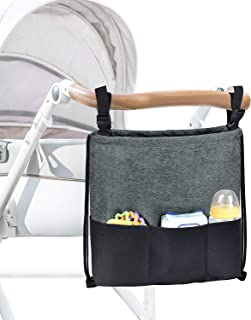 Universal Stroller Organizer Large Capacity Portable Baby Stroller Storage Bag 2way To Use Fit All The Baby Strollers Gift...