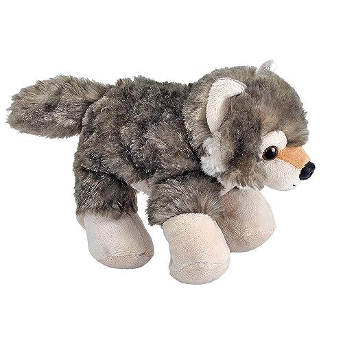 """Aurora MiYoni Plush 11/"""" Wolf Soft Toy w//t Branded Cuddly Children Kids"""
