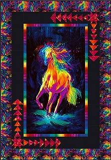 horse pattern fabric