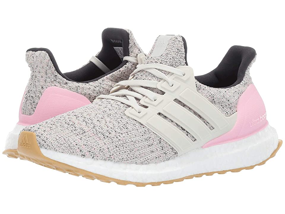 adidas Kids UltraBOOST (Big Kid) (True Pink/Raw White/Carbon) Kids Shoes