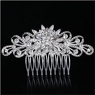 Hair Clip New Flower Bridal Hair Combs for Women Wedding Prom Hair Jewelry Charm Flowers Hair Clips Bridal Hair Accessorie...
