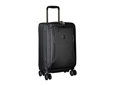 Victorinox Werks Traveler 6.0 Frequent Flyer Softside Carry-On (Black) Carry on Luggage