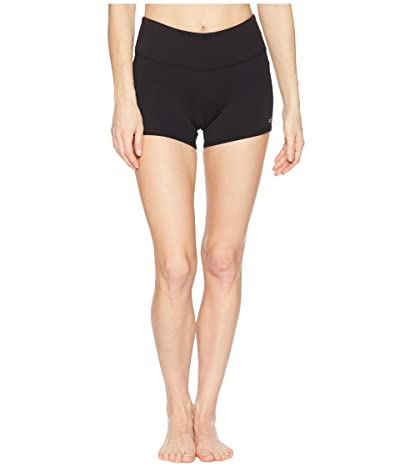 ALO Airbrush Shorts (Black) Women