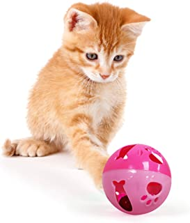 Pets First Feeding Toys for Cats, Dogs, and Small Mammals | Convenient Dispenser Ball Toys Provide Continuous Fun and Healthy Habits