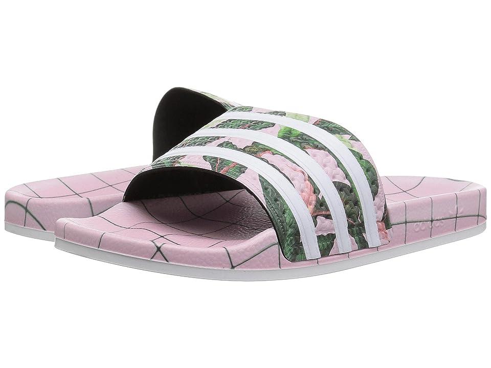 adidas Originals adiLETTE(r) W (White/Wonder Pink) Women