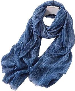 Bufanda De Color Liso Unisex Para Hombre Y Mujer De Primavera Verano Y Otoño