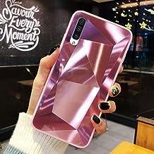 URFEDA Compatibel met Samsung Galaxy A50 Telefoonhoes Diamond Glitter Case met Spiegeleffect Sparkly Bling TPU Siliconen +...