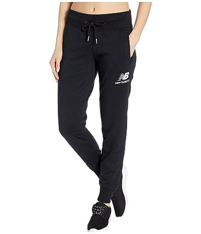 New Balance Essentials French Terry Sweatpants (Black) Women