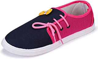 2ROW Women's Color Block Blue Loafers