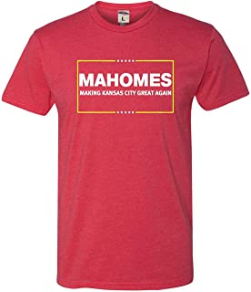 Go All Out Adult Mahomes Making Kansas City Great Again Deluxe T-Shirt