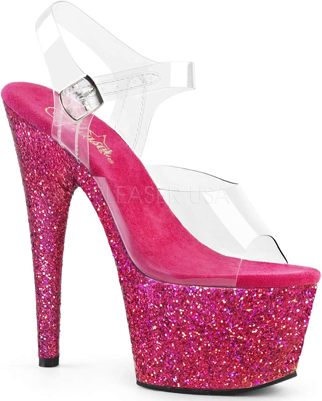 Pleaser Womens ADORE-708LG C RAG Sandals