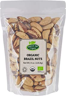 Organic Brazil Nuts 8oz. by Hatton Hill Organic