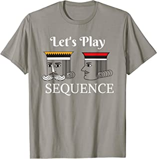 Let's Play a Card Board Game T-Shirt Family Night