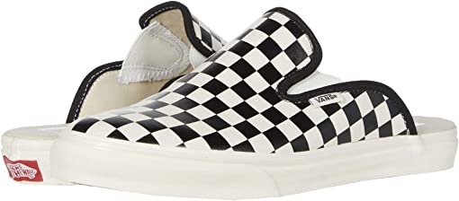 (Leather Checkerboard) Black/White