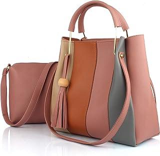 Mammon Women's Shoulder Bag With Sling Bag (Set of 2)