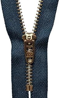 Pantalones de jean YKK de alta calidad con cremallera, cierre semi automático, corredera, para pantalones – 4/5/6/7/8 pulgadas, azul marino, 18cm (7 inches)