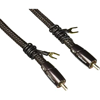 AudioQuest Black Lab RCA Male to RCA Male Subwoofer Cable 16m 52.49 ft.
