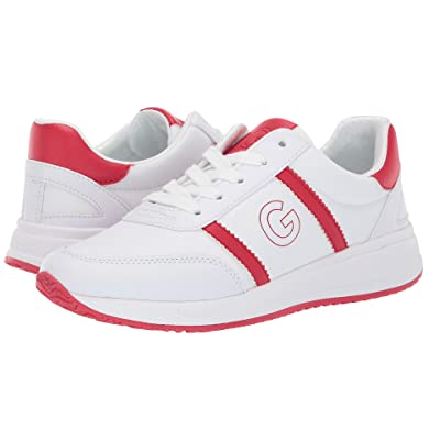 G by GUESS Ryce (White/Red) Women