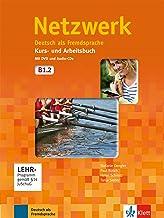 Netzwerk b1, libro del alumno y libro de ejercicios, parte 2 + cd + dvd: Deutsch als Fremdsprache