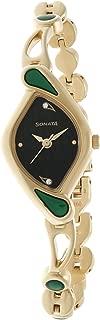 Sonata Analog Black Dial Women's Watch-NK8073YM02