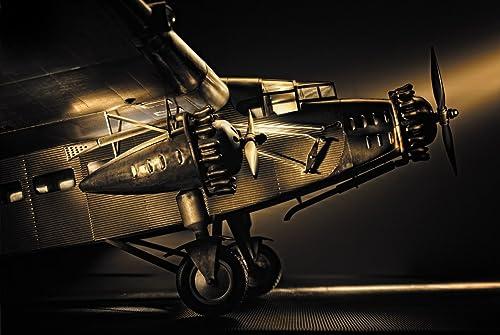 Authentic Models Modellflugzeug - Ford Trimotor , authentische Flugzeugmodelle