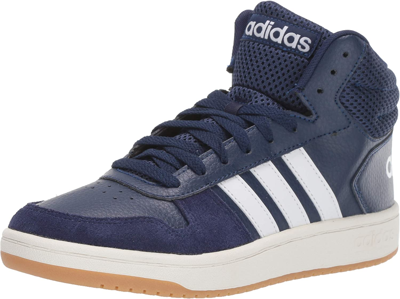 adidas Men's Hoops 2.0 Mid Sneaker