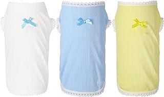Frienda 3 Pieces Summer Breathable Dog Vest Dog ShirtsPuppy Sleeveless T-Shirt Pet Clothes Breathable Pet Vest Clothingf...