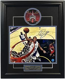 DeMar DeRozan Signed Photo - 2016 All Star Game 19x23 Frame - Autographed NBA Photos