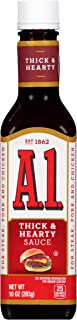 A.1. Thick & Hearty Steak Sauce, 10 oz Bottle (Pack of 12)
