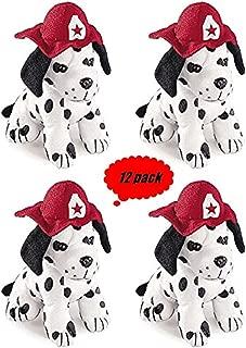 plush dalmatian fire dog