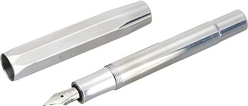 Kaweco AL Sport Fountain Pen, Raw Aluminum, Fine Nib