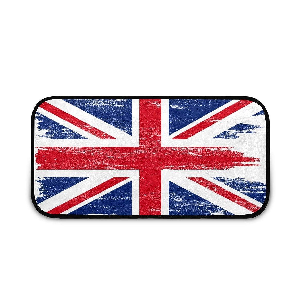 でる代表してモールス信号カーペット キッチンマット イギリス 国旗 洗える 滑り止め付き 子供 夏 秋 ラッグカーペット ラッグ フロアマット 台所マット 長マっト 耐久性 吸水性 ウォッシャブル 100x50 cm