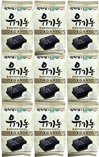 Organic Kwangcheon Kim Nori Roasted Seasoned Seaweed Snacks 4g (9 Pack) / 김, のり, 海苔, 紫菜
