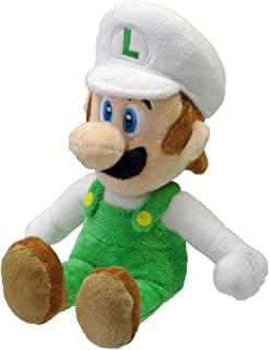 Nintendo Official Super Mario Fire Luigi Plush, 8