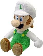 Nintendo Official Super Mario Fire Luigi Plush, 8