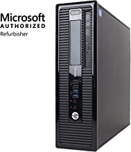 HP ProDesk 400 G1 SFF Desktop, Intel Core i3, 8GB RAM, 500GB HDD, Windows 10 (Renewed)