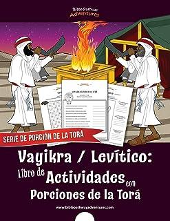 Vayikra   Levítico: Libro de Actividades con Porciones de la Torá (Serie de Porción de la Torá) (Spanish Edition)